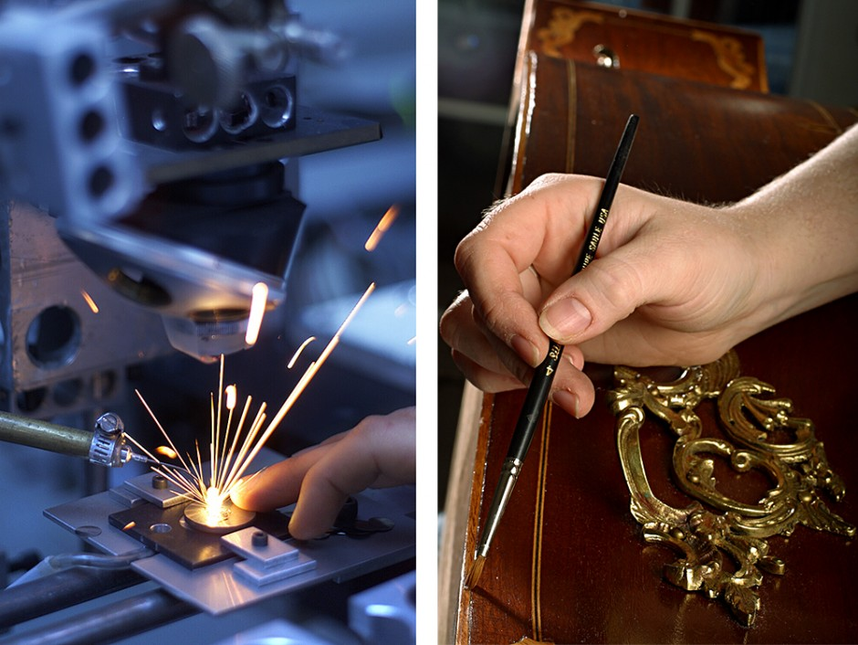 Laser-handpainting